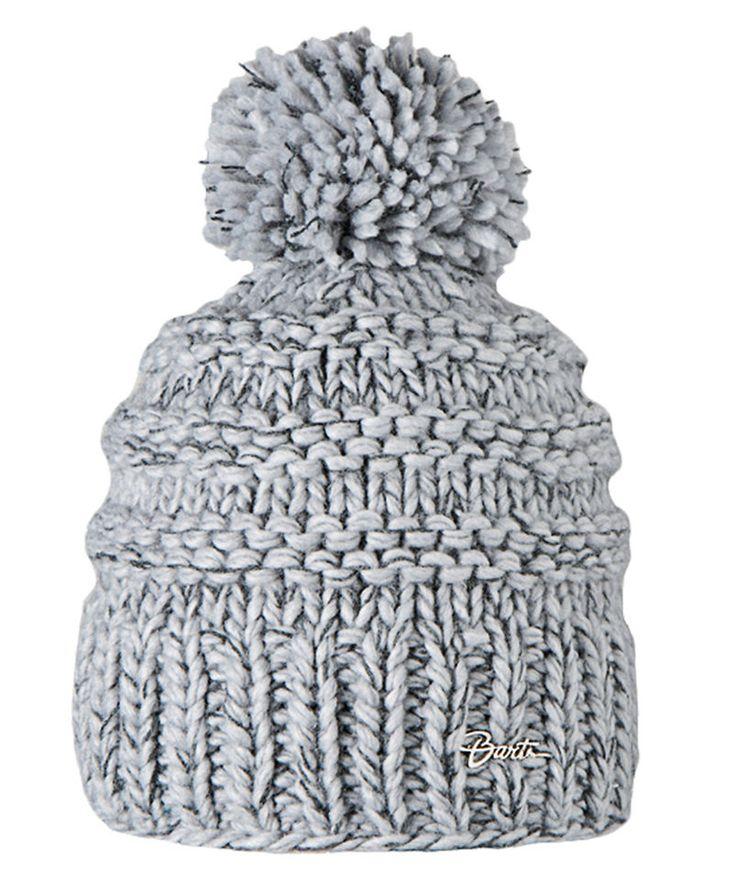 Barts Jasmin Beanie heather grey Damen Winter Strickmütze #ebayinspiriert