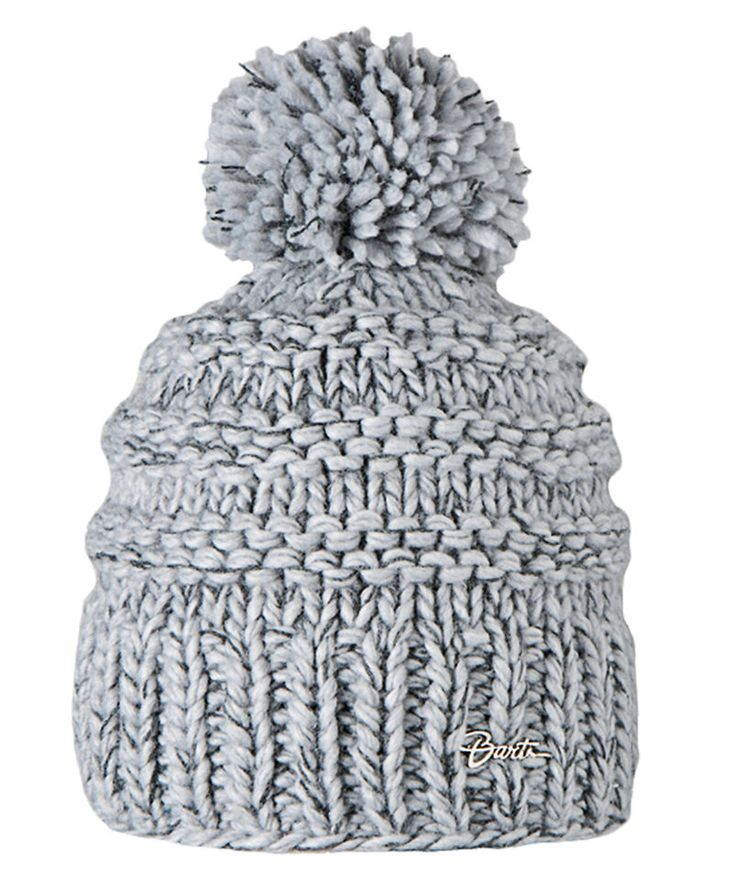 Barts Jasmin Beanie heather grey Damen Winter Strickmütze #ebayinspiriert