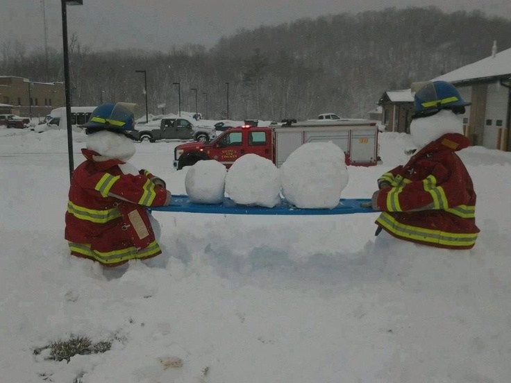 Fire dept this winter!
