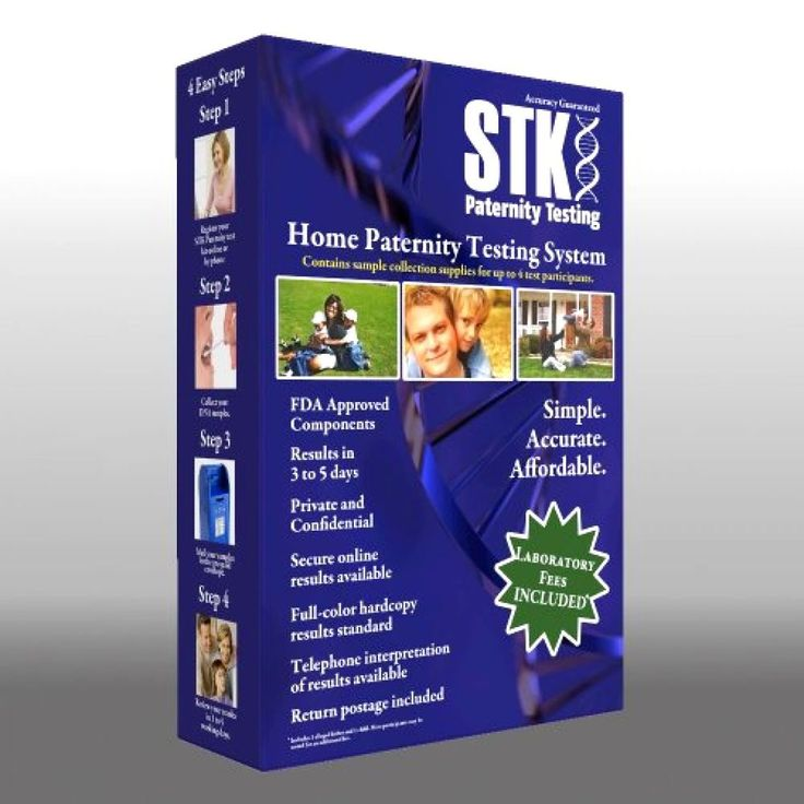 STK Paternity Test Kit - Includes All Lab Fees Free Shipping #STK
