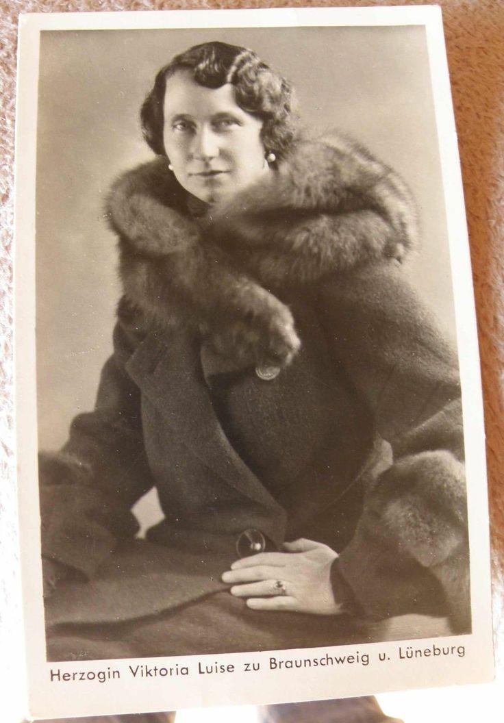 Herzogin Viktoria Luise zu Braunschweig u. Lüneburg