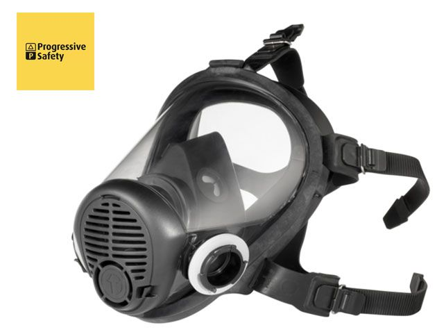 OPTIFIT TWIN - Optifit Twin full-face respirator with high quality, impact and abrasion resistant polycarbonate visor, comfortable silicone inner mask with easy maintenance valves to prevent misting. - www.psf.co.uk