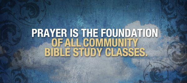 Teen Community Bible Study 70