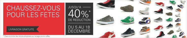 Jusqu'a -40%... et meme plus sur des chaussures homme, femme et enfant de marque Timberland Nike Puma Adidas Kawasaki Columbia LeCoqSportif