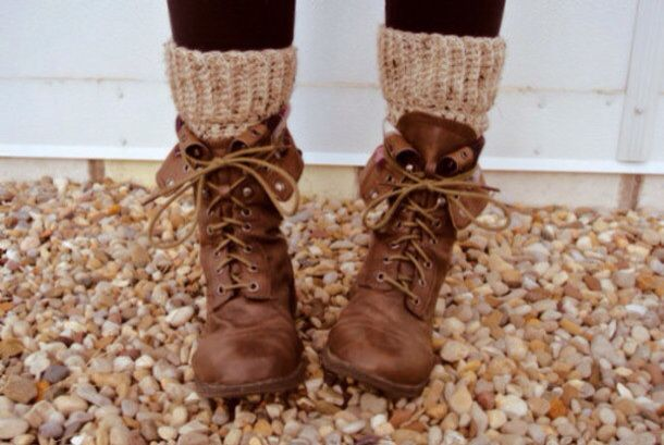 Winter shoes boots brow Cafes botines hipsters