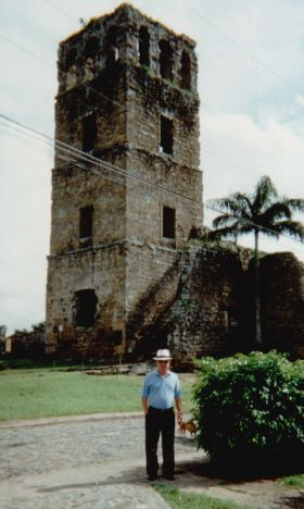 Tower in Panama Viejo, area destroyed the Pirate Captain Morgan (best known for his rum). He destroyed several Spanish Forts and finally the original site of Panamá City, which is a tourist attraction today.  The city was moved to a point of land now known as Casco Viejo. - See more at: http://www.bestplacesintheworldtoretire.com/questions-and-answers/1149-what-is-the-history-of-panama#sthash.6kSqrKmV.dpuf