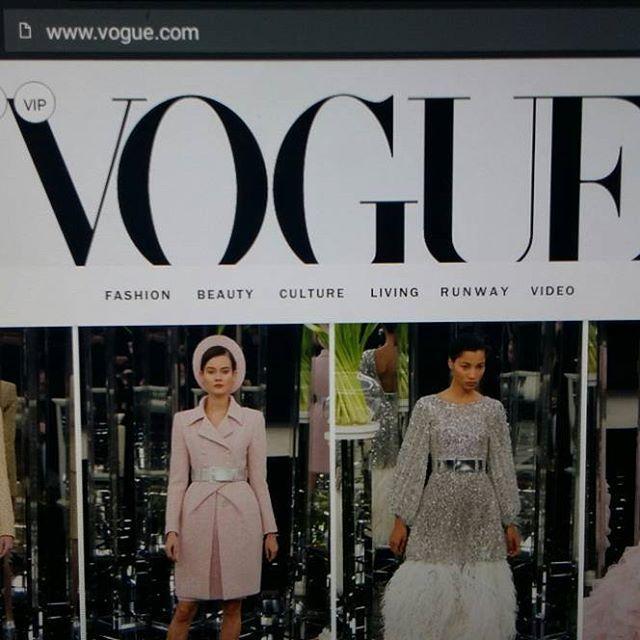 VOGUE...WORLD Fashion NEWS&TRENDS CHANEL 2017 Spring, Top, Videos..BLOGISSA nyt. SEURAAN, Tykkän Muoti jutuista. SINÄ? Kevättä ja Kesääkohti mennään pikkuhiljaa...HYMY @voguemagazine @stylevoguette #fashion #world #news #trends #trendsetter #blog #muotiblogi #elämäntyyli #tyyli #blogilates ⌚☺