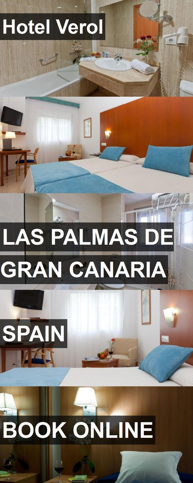 Hotel Hotel Verol in Las Palmas de Gran Canaria, Spain. For more information, photos, reviews and best prices please follow the link. #Spain #LasPalmasdeGranCanaria #HotelVerol #hotel #travel #vacation