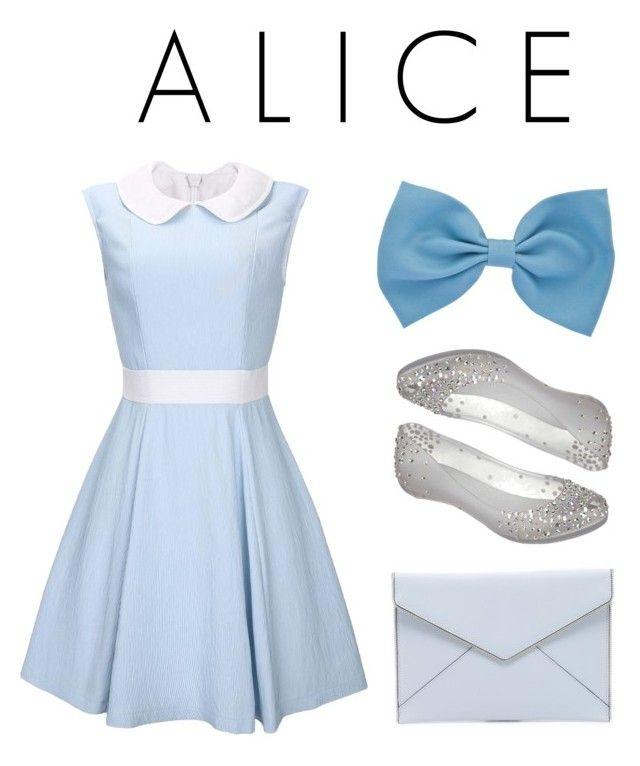 """ALICE"" by nafila-winardi on Polyvore featuring Melissa and Rebecca Minkoff"