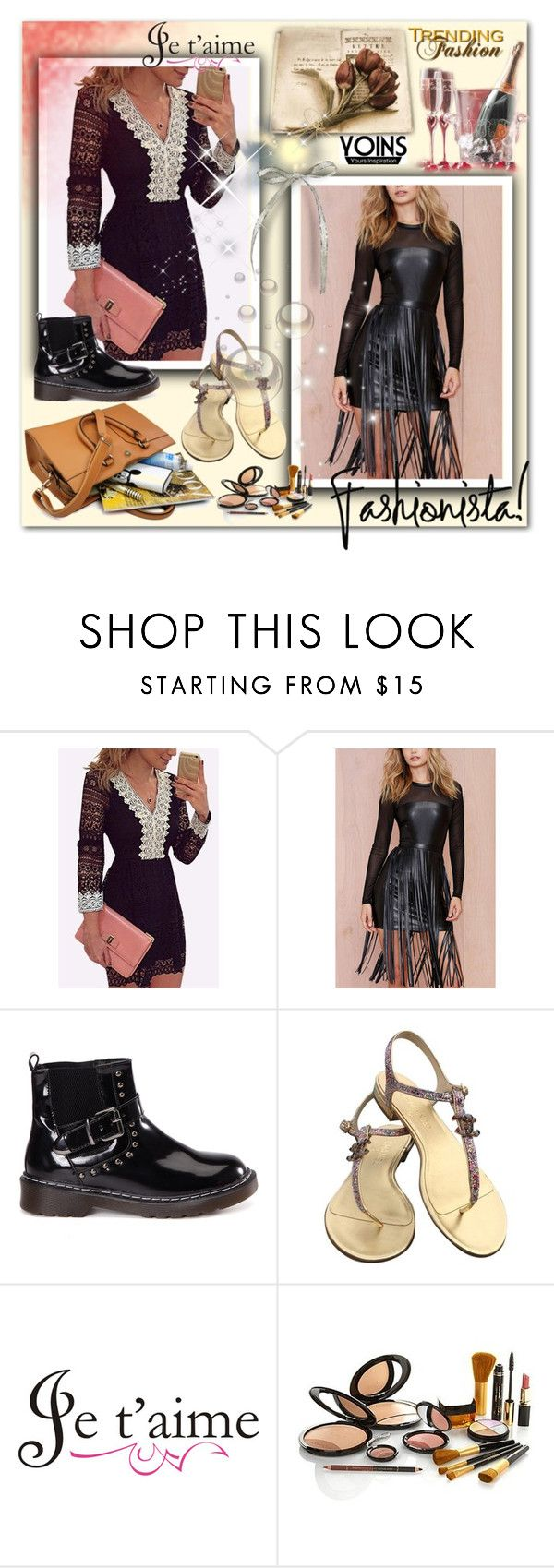 """""""YOINS 6"""" by selmica11 ❤ liked on Polyvore featuring Chanel, WALL, yoins, yoinscollection and loveyoins"""