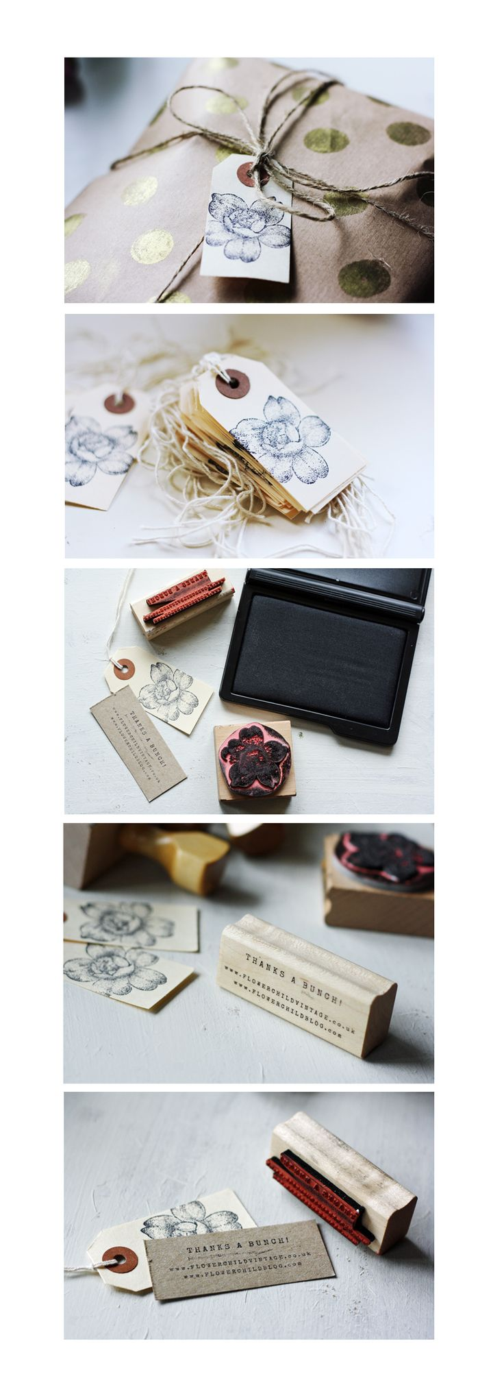 Print & packaging design by Betty Red Design | for Flower Child Vintage