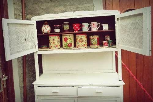Mueble De Cocina Alacena Aparador Antiguo Vintage, De Campo