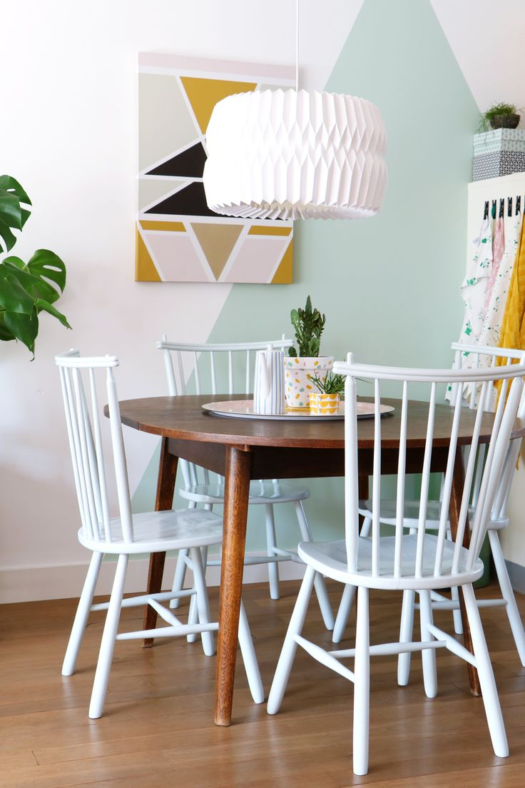 MY ATTIC SHOP Vintage Retro Dining Chairs Room Kitchen