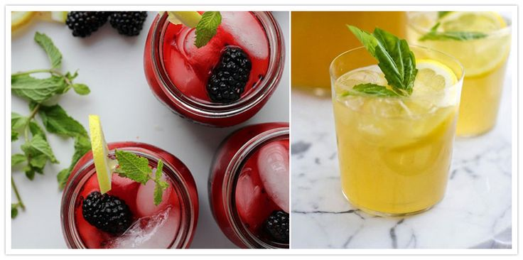 Another lady like burbon drink for warm weather! Top Ten Signature Drinks for Summer Weddings - Summer Peach Burbon Lemonade! OH Baby.