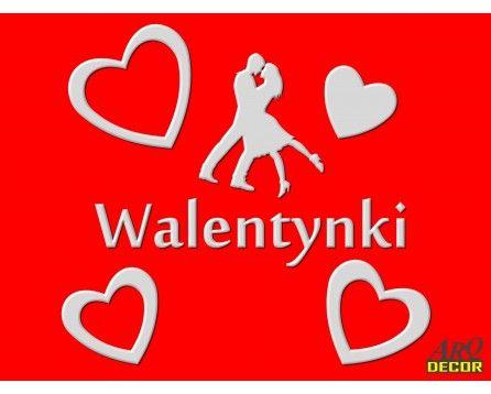 Dekoracja Na Walentynki (Dekoracje Styropianowe) NR 28 NA ZAMÓWIENIE - ARQ - DECOR | Pracowania Dekoracji ARQ DECOR