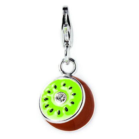 Kiwifruit Sterling Silver Charm By ZALA | Shop New Zealand