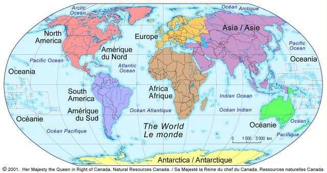 Distance entre 2 villes du monde