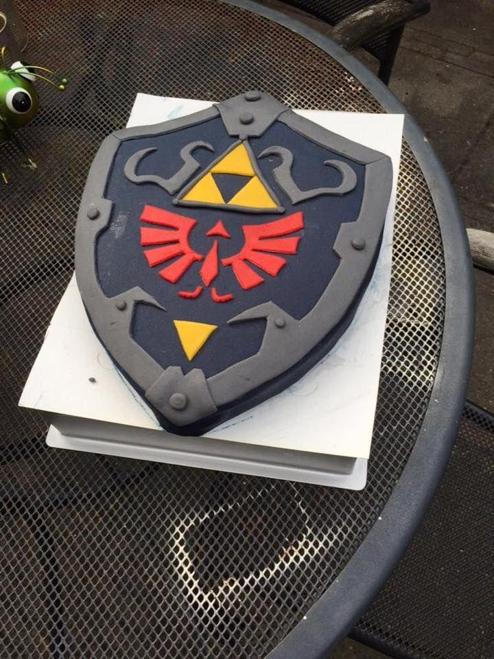 Taart Zelda