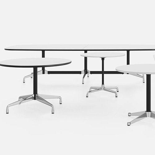 Eames borde fremstillet af Vitra, så ved du, det er en original. Vitra er autoriserede producent af Eames produkter til Europa og Mellemøsten. #kontormøbler #kontor #kontorindretning #borde #designborde