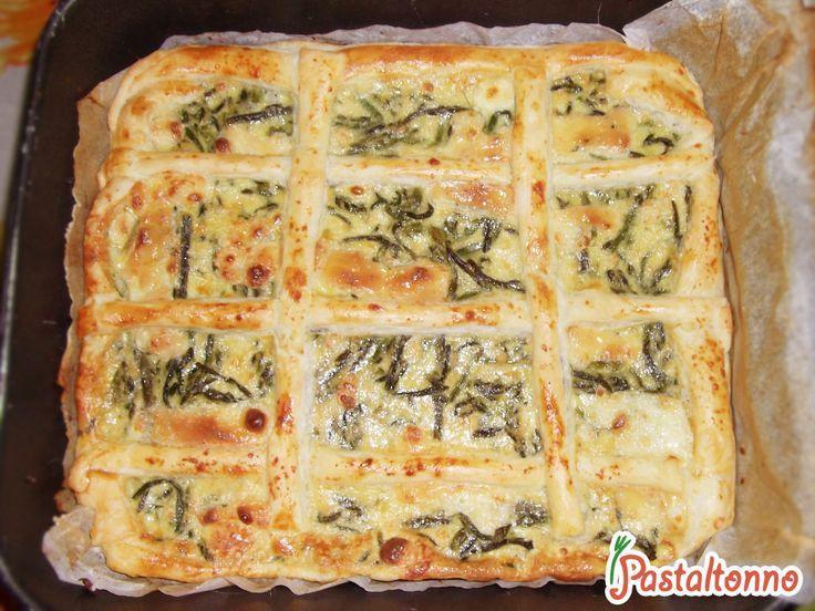 Quiche di asparagi #recipe #quiche #asparagus