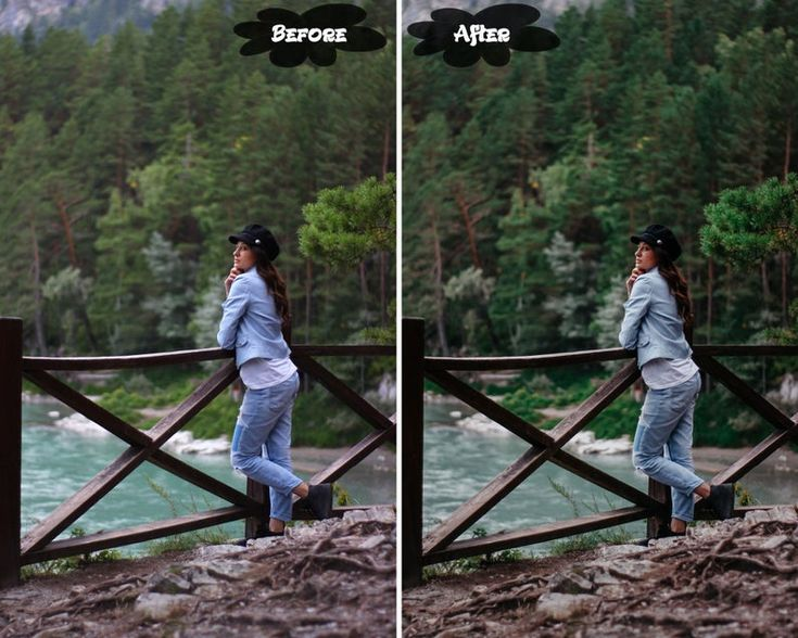 4 mobile lightroom preset forest preset dng iphone android