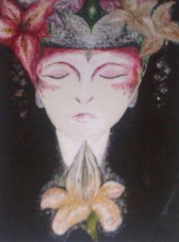 Buddhist Lady by EtherealLink.deviantart.com on @deviantART