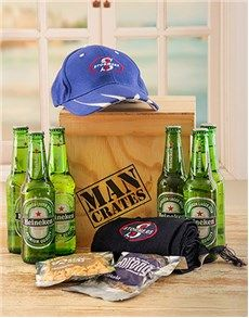 Birthday Presents for Him: Stormers Man Crate!