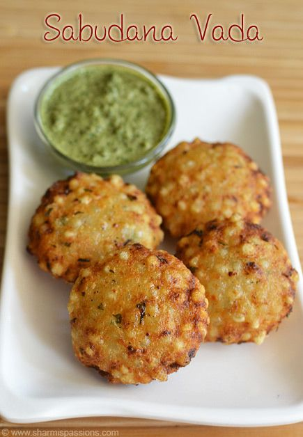 Sabudana Vada Recipe | Sago Vada | Javvarisi Vadai- I'd love to try this. Might be hard to find all the ingredients.