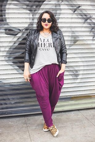 Gabi Fresh   18 Fashion Bloggers You Need On Your Radar. Love the pants and the combination of everything