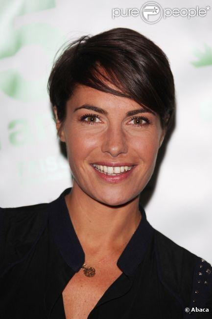 Alessandra Sublet à Paris en novembre 2009