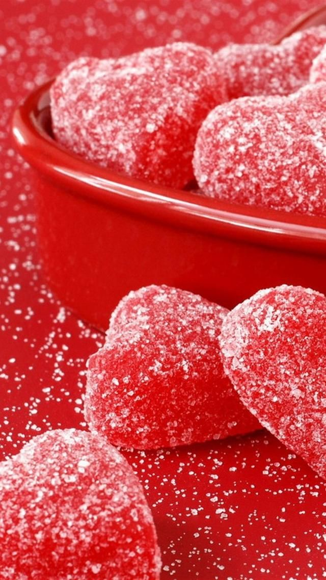 Red jelly Hearts.... my favorite!!!!