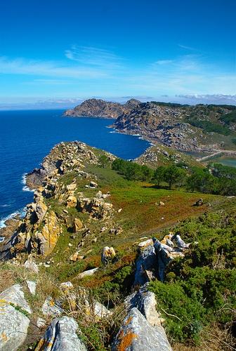 Islas Cies, Galicia, Spain.