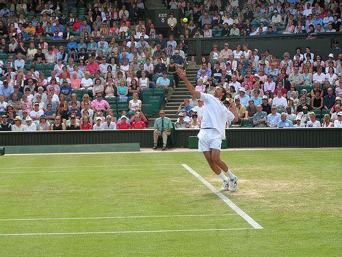 Goran Ivanisevic Wimbledon 2014