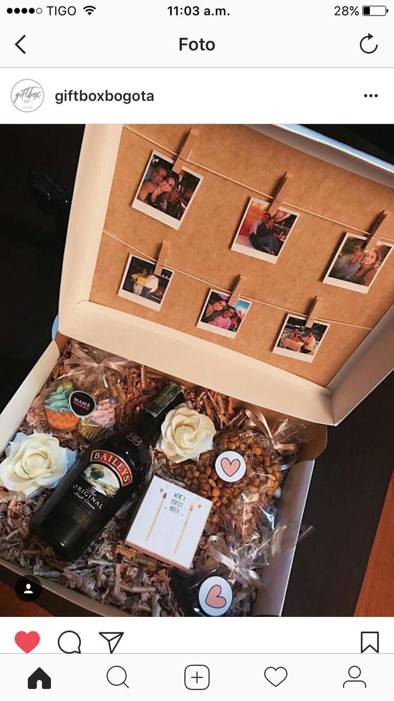 Cumpleaños idea. Birthday box idea.
