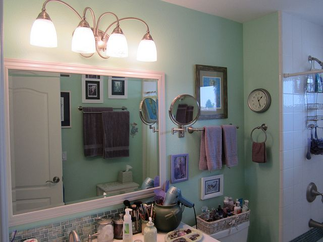 Blue Bathroom Ideas Gratifying You Who Love Blue Color: Best 25+ Sea Green Bathrooms Ideas On Pinterest