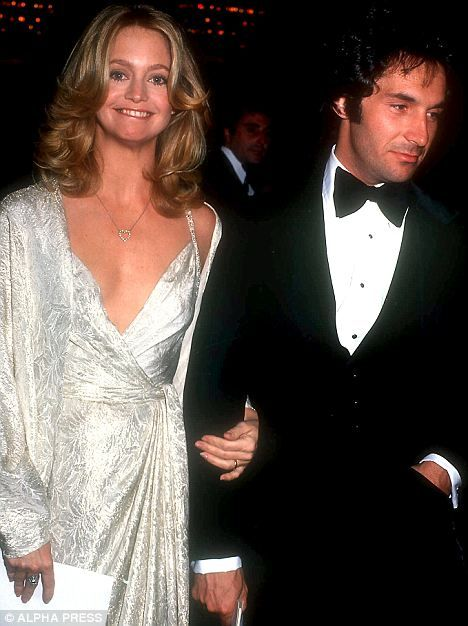 Goldie Hawn & Bill Hudson / actor / father of Kate & Oliver Hudson