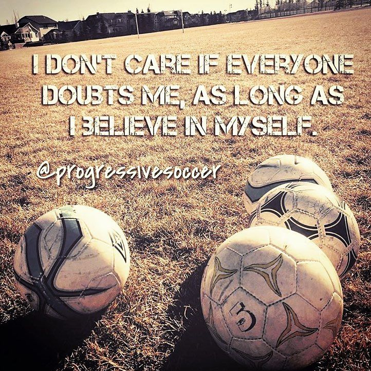 If you need everyone else to believe in you in order to succeed you will fail. The only person you need in your corner to succeed is yourself. Sadly most people don't believe in themselves unless someone else does. If you want to be a great player and achieve great things it starts inside your head. Use positive self talk to motivate and convince yourself that you are capable (you can do this) everyday in every moment at every opportunity. Do you struggle with self-belief? Are you weak…