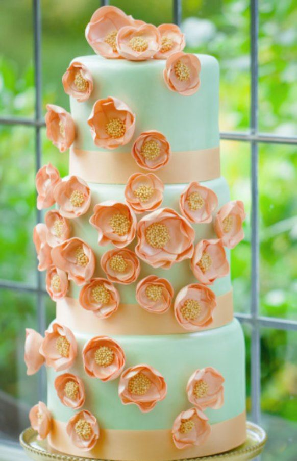 2013 summer wedding cake ideas