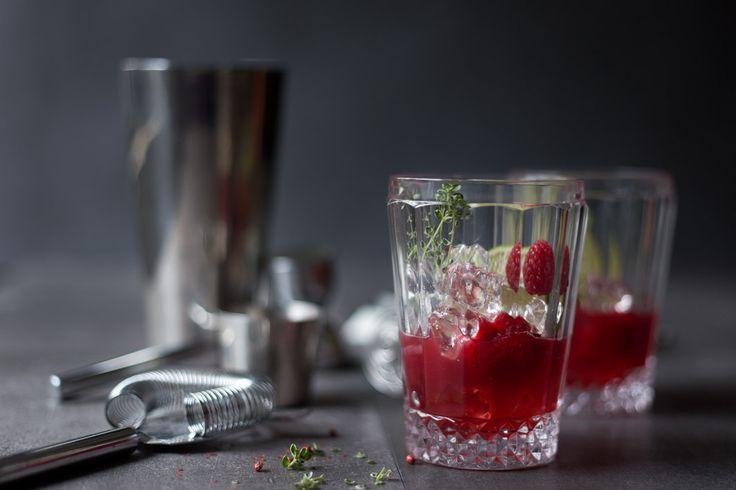 Rezept für himbeer gin cocktail