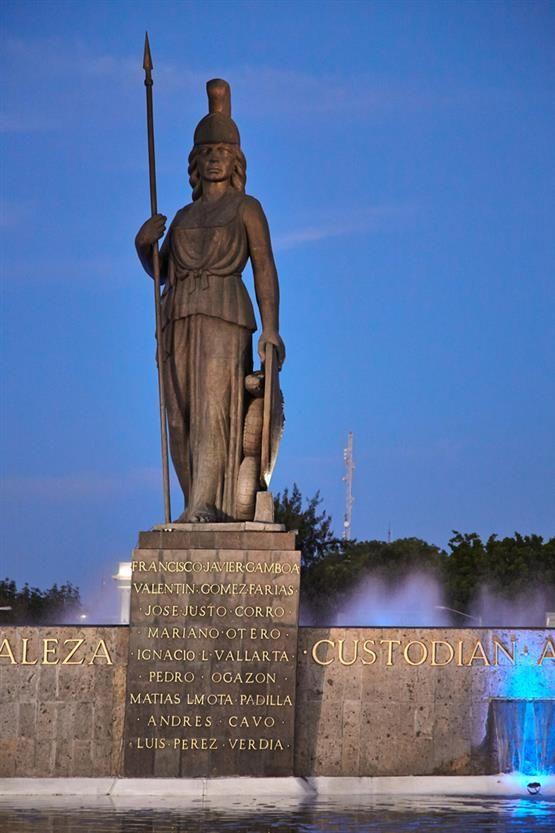 La minerva, Guadalajara, Jal. Justicia, Sabiduría y fortaleza custodian a esta leal ciudad. Amo mi ciudad.