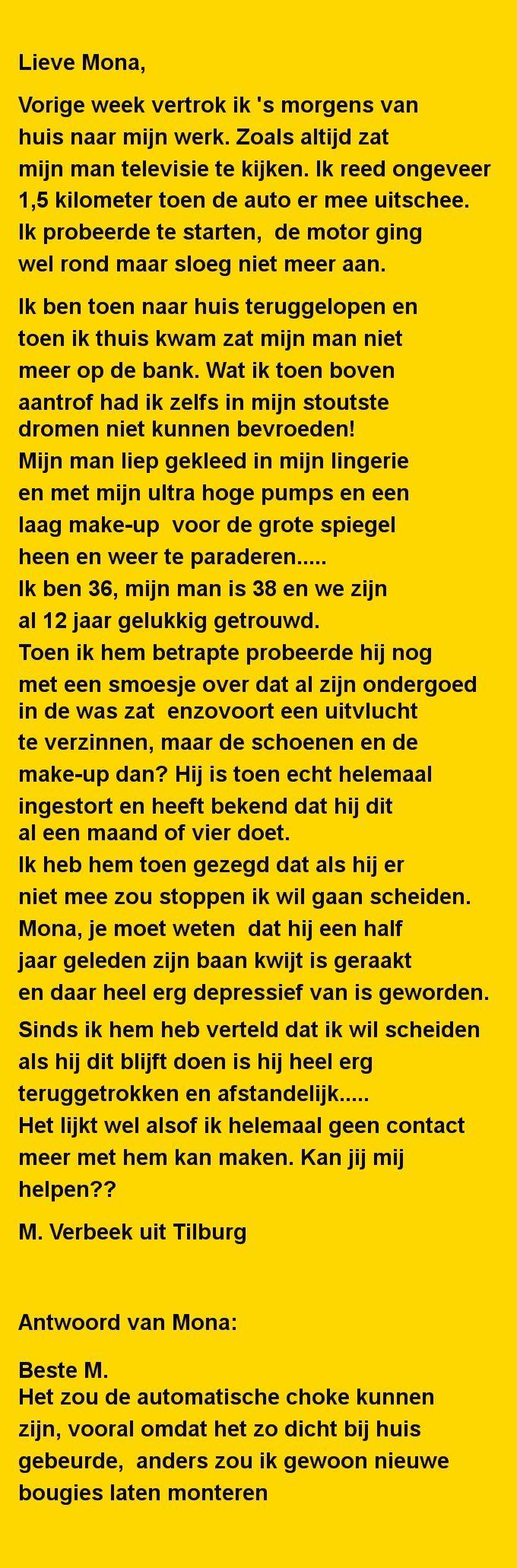 Lieve Mona - Zieer.nl