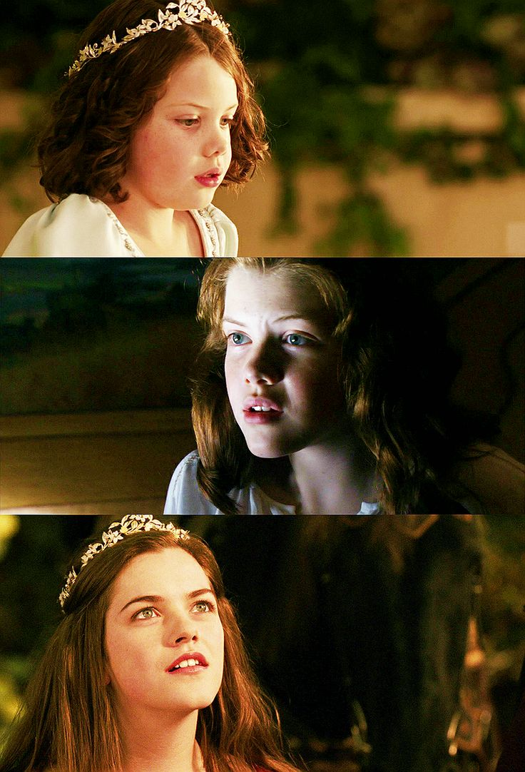 Queen Lucy the Valiant - I love these three pictures together