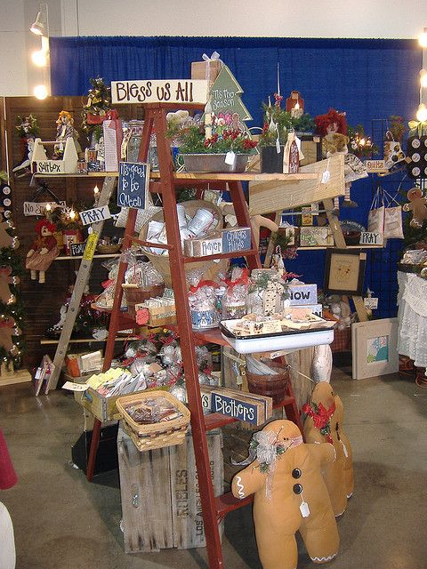 Christmas Craft Booth Ideas Part - 16: Craft Show Booth