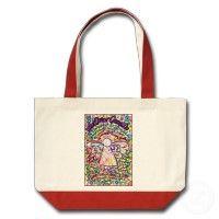Spring Hearts Cancer Angel Bag