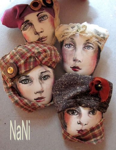 broches, tela   by NANIPOLLITO