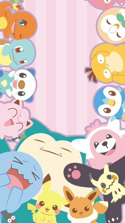 Such A Cute Wallpaper In 2020 Cute Pokemon Wallpaper Pokemon Cute Pokemon