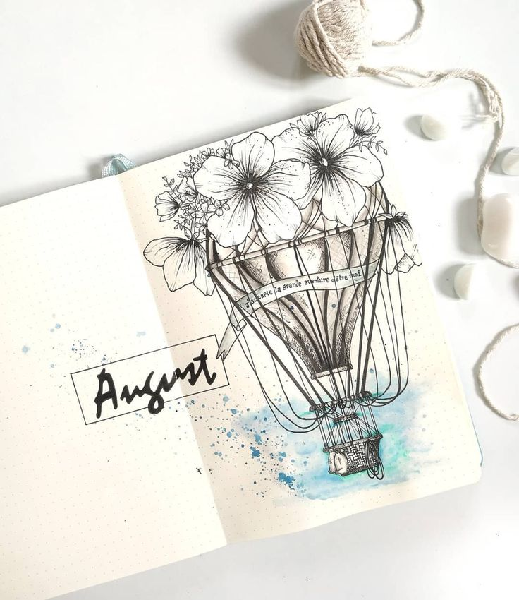 • Aug cover page ✧・