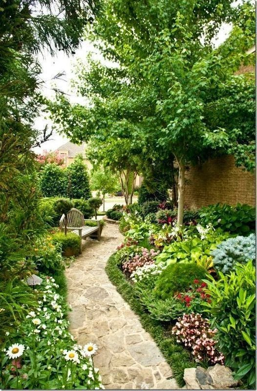 Beautiful Side Garden Design Idea