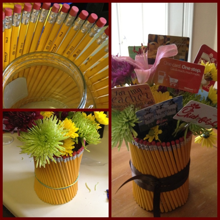 end of the year bouquet for teachers