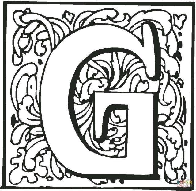 27 Wonderful Picture Of Letter G Coloring Pages Entitlementtrap Com Coloring Pages Coloring Letters Free Coloring Pages